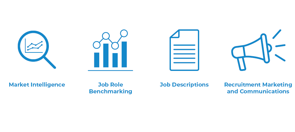 Blackfield Associates offers a wide range of consultancy services, allowing VMIC to benefit from market intelligence, job role benchmarking, job descriptions, and recruitment marketing and communications.